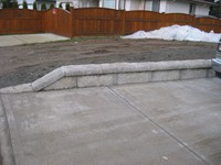 Small Retaining jobs