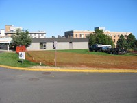 "Commercial Work: St Joseph's Hospital Parking Lot - ""before"""